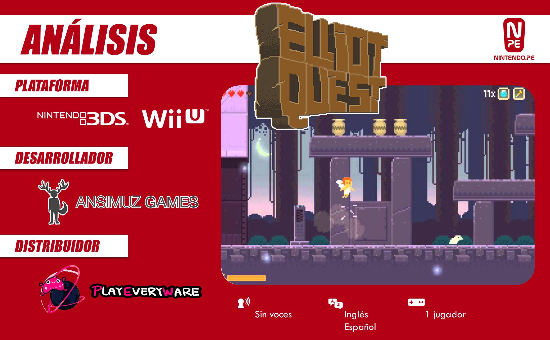 Elliot Quest (3DS) – Análisis - NPe