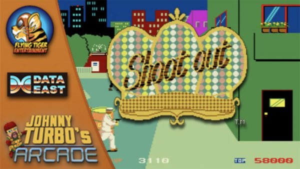 Shoot Out Juego De Arcade De Data East Saldra En La Switch Npe